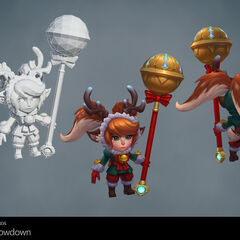Snow Fawn Poppy Model 1 (by Riot Artists <a href=