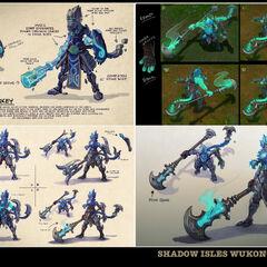 Underworld Wukong Concept (by Riot Artist <a href=