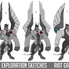 Debonair Galio Update Concept 2 (by Riot Artist <a href=