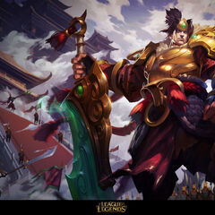 Warring Kingdoms Garen Splash Concept 3 (by Riot Artist <a href=