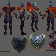 Glaive Warrior Pantheon Update Model