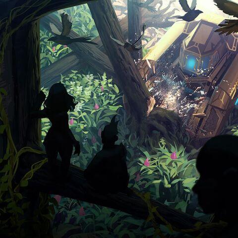 Piltover encroaching on The Jungle