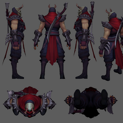 Blood Moon Shen Update Model