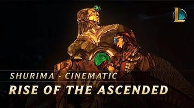 Shurima Rise of the Ascended Cinematic - League of Legends