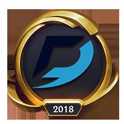 Worlds 2018 Dash9 Gaming (Gold) Emote