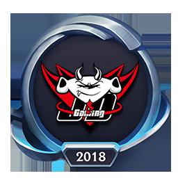 Worlds 2018 JD Gaming Emote