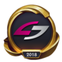 Worlds 2018 Unsold Stuff Gaming (Gold) Emote
