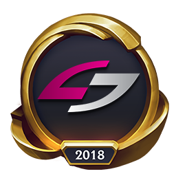 Worlds 2018 Unsold Stuff Gaming (Gold) Emote