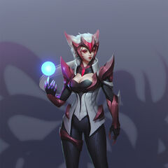 Challenger Ahri Concept (by Riot Artist <a href=