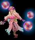 Basenowa Syndra (Różowy kwarc)