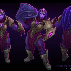 Void Bringer Illaoi Model 1 (by Riot Artist <a href=
