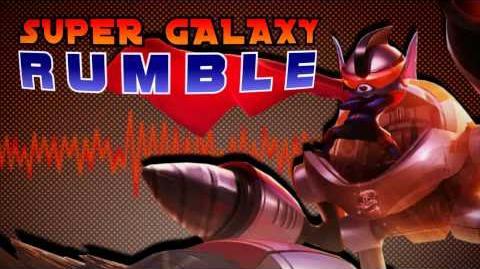 Super Galaktyczny Rumble - motyw muzyczny