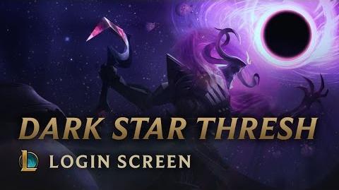Thresh Mrocznej Gwiazdy - ekran logowania