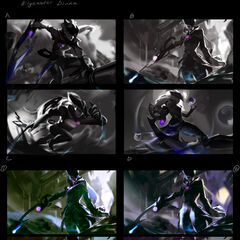Dark Waters Diana Splash Concept 1 (by Riot Artist <a href=