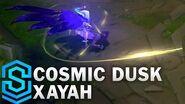 Kosmischer Nachtschatten Xayah - Skin-Spotlight