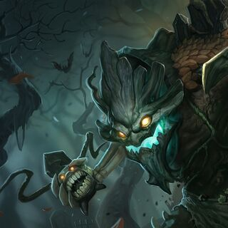 Haunted Maokai <small>(Shadow Isles skin)</small>