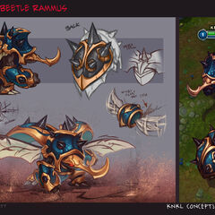 Guardian of the Sands Rammus Concept (by Riot Artist <a href=