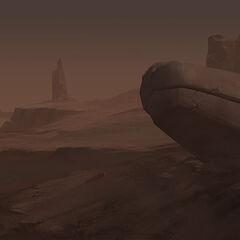 Shurima landscape 2 (by Riot Artist <a href=
