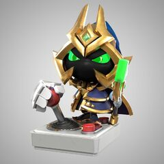 Final Boss Veigar Statue Model 1 (by Riot Artists <a href=