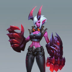 Demon Vi Concept (by Riot Artist <a href=