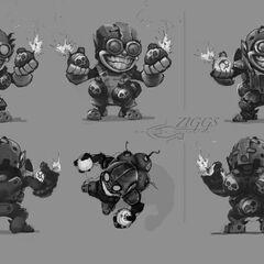 Ziggs Concept 4 (by Riot Artist <a href=