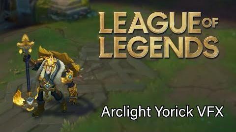 Arclight Yorick Visual Effects Folio