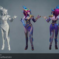 Lunar Wraith Caitlyn Model (by Riot Artists <a href=