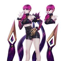 K/DA Evelynn Concept 3 (by Riot Artist <a href=