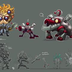 Heimerdinger Update Concept 2 (by Riot Artist <a href=