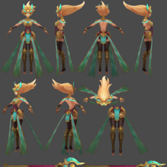 Guardian of the Sands Janna Model