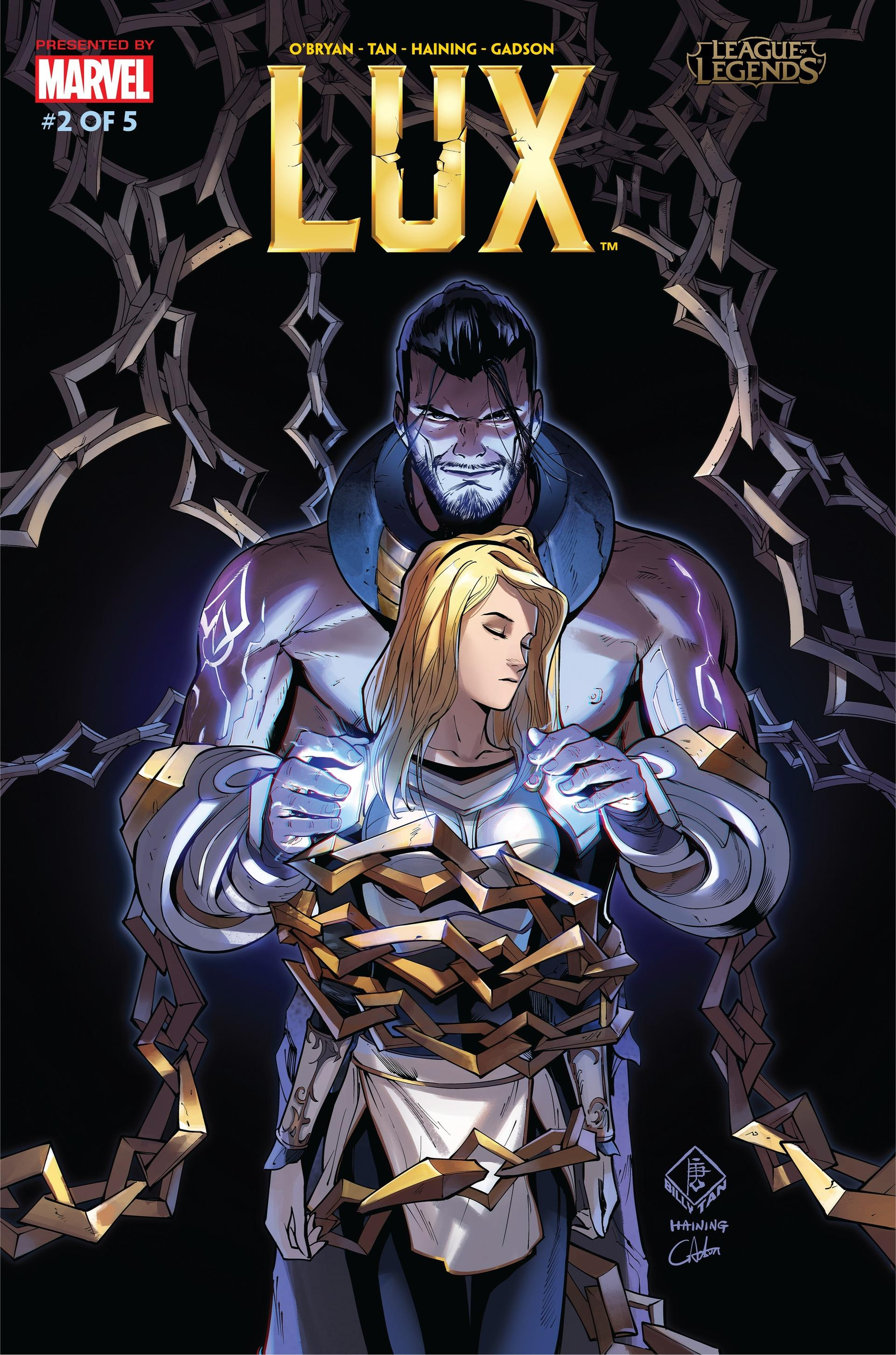 Lux Comic 2 Cover 1