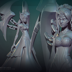 Ghost Bride Morgana Model 1 (by Riot Artist <a href=