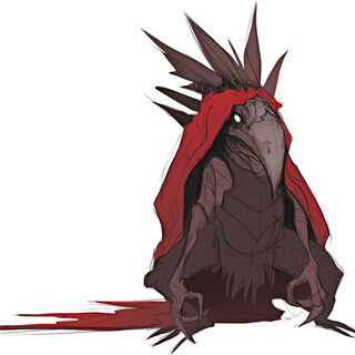 Crimson Raptor Concept 1