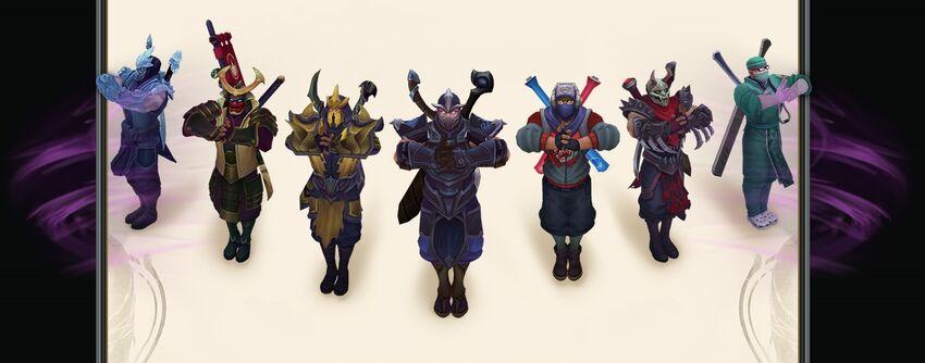 Shen VU skins