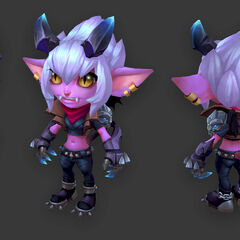 Little Demon Tristana Model 7