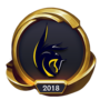 Worlds 2018 Cube Adonis (Gold) Emote