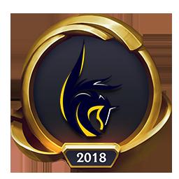 Worlds 2018 Cube Adonis (Gold) Emote
