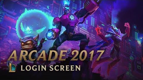 Arcade 2017 (Battle Boss) - ekran logowania
