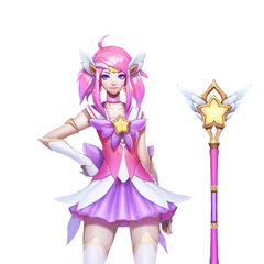 Star Guardian Lux Concept (by Riot Artist <a href=