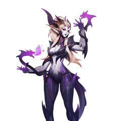 Dragon Sorceress Zyra Concept 3 (by Riot Artist <a href=
