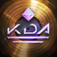Golden KDA profileicon