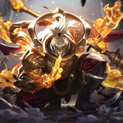 God Staff Jax Splash Concept 3 (by Riot Artist <a href=