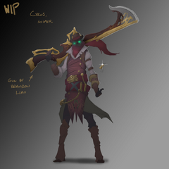 High Noon Jhin Concept 5 (by Riot Artist <a href=