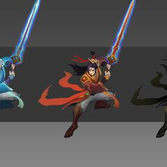 Eternal Sword Yi Chroma Concept (by Riot Artist <a href=
