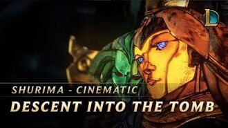 Shurima Descent into the Tomb Cinematic - League of Legends