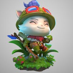 Teemo Statue Model 1 (by Riot Artists <a href=