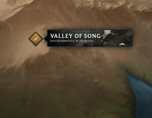 Valley of Song map