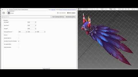 Xayah Model Behind the Scenes