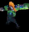 Ekko Pulsefire (Emerald)