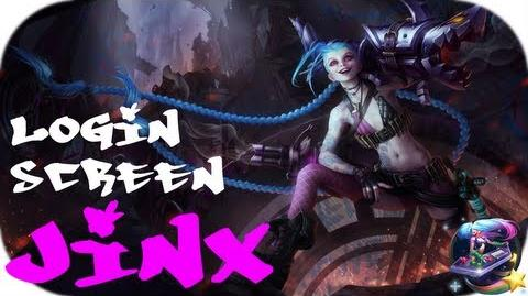 Jinx - Login Screen